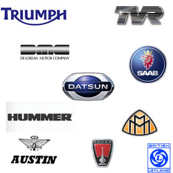 English Car Brands | British Automotive