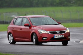 Kia cee'd reasonably priced car BBC Top Gear