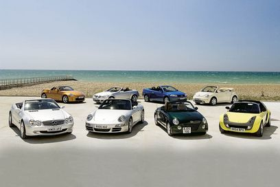Dealer reports surge in drop-top sales